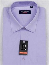 Мужская рубашка с коротким рукавом BROSTEM CVC8s