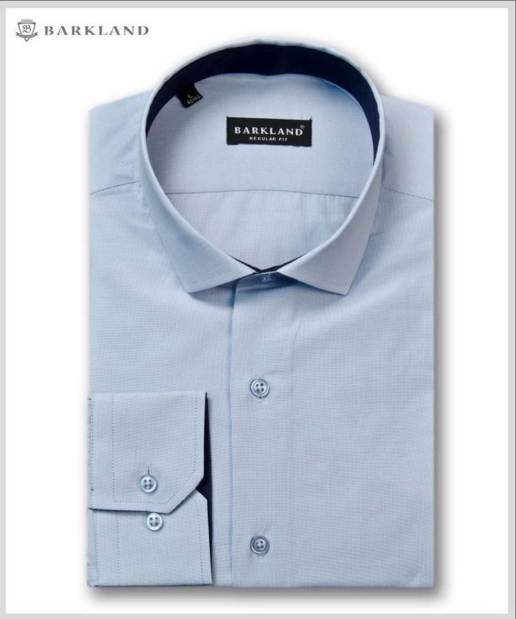 6dc519ae4d6 Купить Мужская рубашка 20285 BRF BARKLAND полуприталенная с примеркой