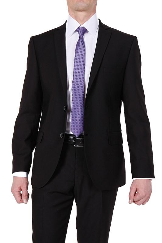 c198cf76871 Купить Черный мужской костюм 7717 с примеркой
