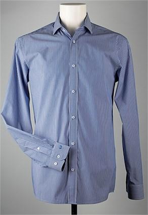 Сорочка мужская VESTER 91718W-02н приталенная - фото 10322