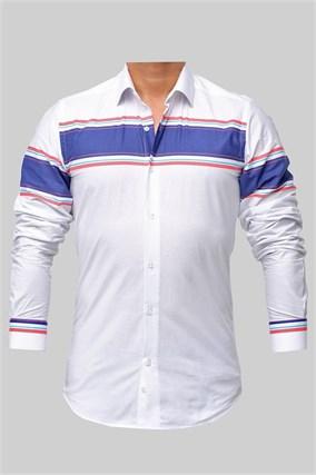 Мужская рубашка P-2017-05 Bawer - фото 10392