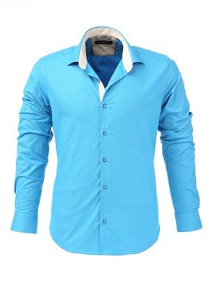 Мужская рубашка P-4006-23 Bawer - фото 10645