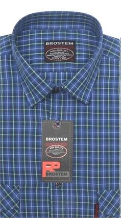 100% хлопок большая рубашка SH657-2g BROSTEM - фото 11167