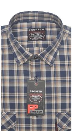 Рубашка мужская хлопок 100 % SH653 BROSTEM - фото 11208