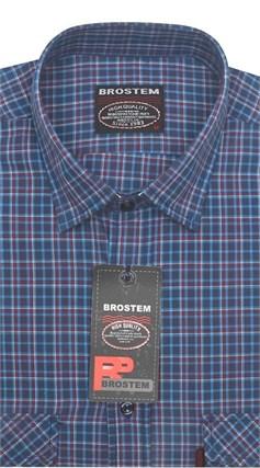 Рубашка мужская хлопок 100 % SH655 BROSTEM - фото 11211