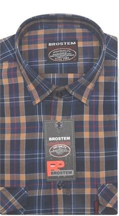 Рубашка мужская хлопок 100 % SH660 BROSTEM - фото 11220