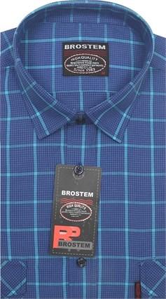 Рубашка мужская хлопок 100 % SH715 BROSTEM полуприт. - фото 11249