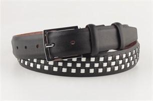 Ремень SEVARO sk3.5-0001 черно-белый - фото 11261