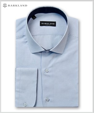 Мужская рубашка 20228 BSF BARKLAND приталенная - фото 11465