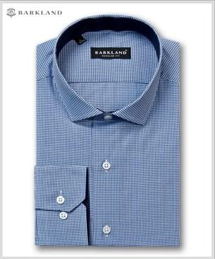 Мужская рубашка 20282 BRF BARKLAND полуприталенная - фото 11484