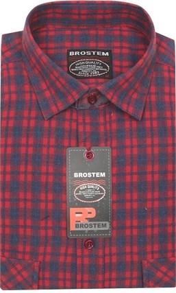 Мужская рубашка шерсть/хлопок KA1711 Brostem - фото 11590