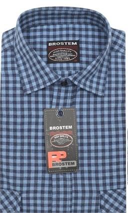 Мужская рубашка шерсть/хлопок Brostem KA2422Е - фото 11595