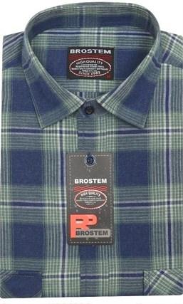 Мужская рубашка шерсть/хлопок Brostem KA2439 - фото 11601