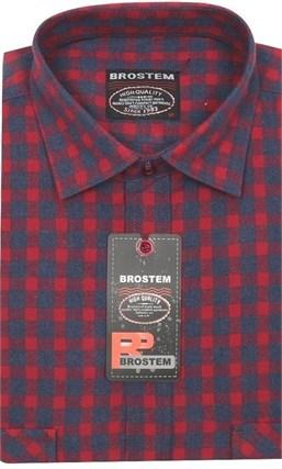 Мужская рубашка шерсть/хлопок Brostem KA2461Е - фото 11607