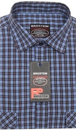 Теплая рубашка шерсть/хлопок Brostem KA16002C - фото 11640