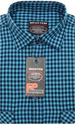 Мужская рубашка шерсть/хлопок Brostem KA15028C - фото 11668