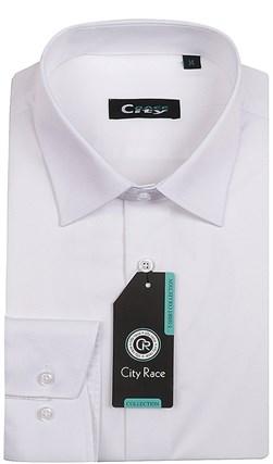 Мужская рубашка BROSTEM CITY RACE 1122-1 приталенная - фото 11793