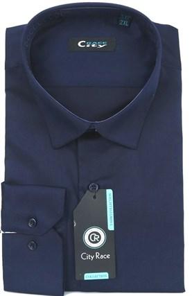 Мужская рубашка BROSTEM CITY RACE 1122-3 приталенная - фото 11796