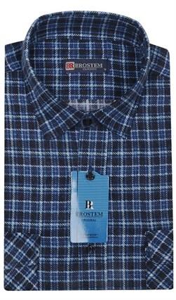 Мужская фланелевая рубашка BROSTEM F95 - фото 11812