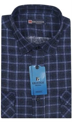 Мужская фланелевая рубашка BROSTEM F99 - фото 11821