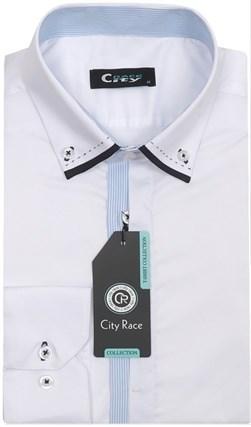 Мужская рубашка BROSTEM CITY RACE 712C-1 приталенная - фото 11973