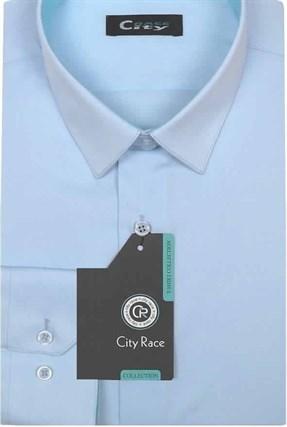 Приталенная р.М рубашка CITY RACE 1122-9 - фото 11987