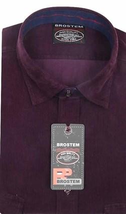 Вельветовая мужская рубашка хлопок 100 % Brostem V21 Z - фото 12122