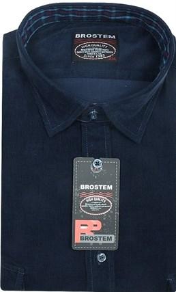 Вельветовая мужская рубашка приталенная хлопок 100 % Brostem V23 Z - фото 12125