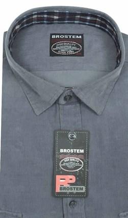 Вельветовая мужская рубашка Brostem V26 Z хлопок 100 % - фото 12134