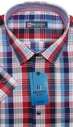 Мужская рубашка с коротким рукавом BROSTEM 7005S-7s-pp - фото 12267
