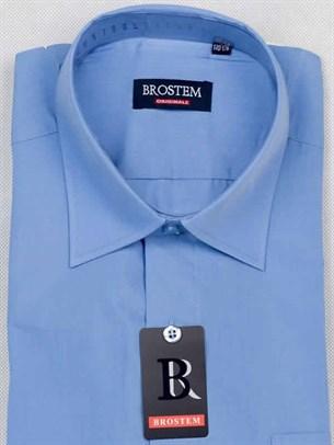 Прямая рубашка с коротким рукавом BROSTEM CVC23As - фото 12342