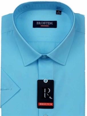 Мужская рубашка с коротким рукавом BROSTEM CVC36s - фото 12353
