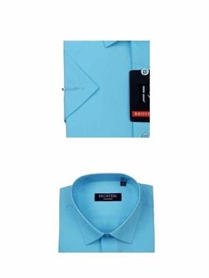 Мужская рубашка с коротким рукавом BROSTEM CVC36s - фото 12354