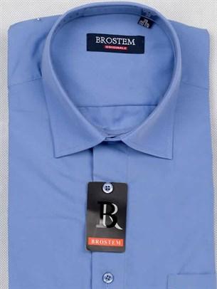 Прямая рубашка с коротким рукавом BROSTEM CVC37s - фото 12355