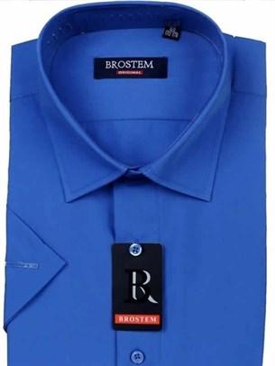 Прямая рубашка с коротким рукавом BROSTEM CVC41s - фото 12359