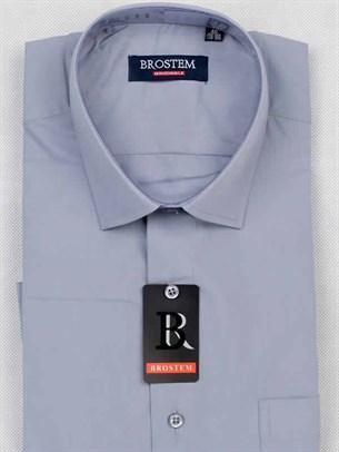 Мужская рубашка с коротким рукавом BROSTEM CVC53s - фото 12364