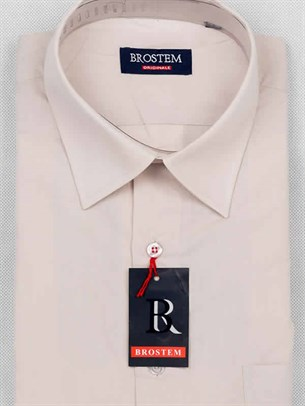 Мужская рубашка с коротким рукавом BROSTEM CVC4s - фото 12366