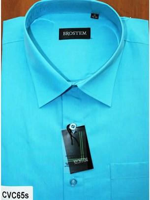 Мужская рубашка с коротким рукавом BROSTEM CVC65s - фото 12372