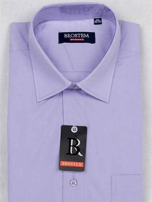 Короткий рукав прямая рубашка BROSTEM CVC8s - фото 12373