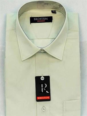 Мужская рубашка большого размера с коротким рукавом BROSTEM CVC68s - фото 12385