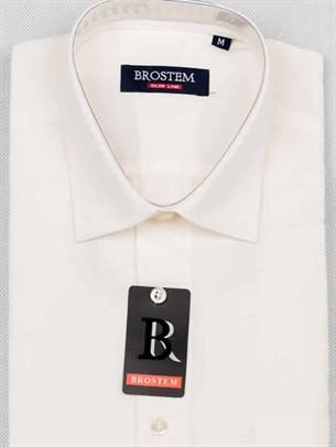 Мужская рубашка большого размера с коротким рукавом BROSTEM CVC38s - фото 12399