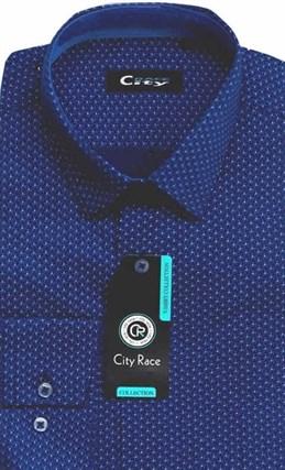 Мужская рубашка CITY RACE BROSTEM приталенная  CR115 Z - фото 12594
