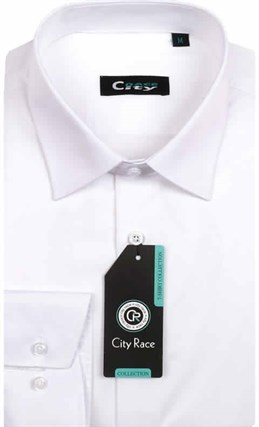 Мужская рубашка City Race BROSTEM 901-pr приталенная - фото 12641