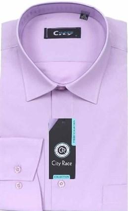Мужская рубашка City Race BROSTEM 906-pr приталенная - фото 12649