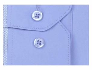 Мужская рубашка BROSTEM 3911VS95 Z полуприталенная - фото 12666