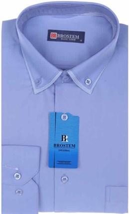 Мужская рубашка BROSTEM 3911VS95 Z полуприталенная - фото 12667