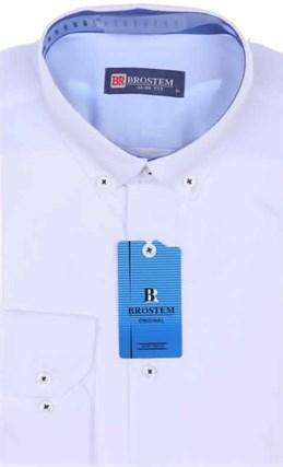 Мужская рубашка BROSTEM 4701VS30 Z-pr приталенная - фото 12671