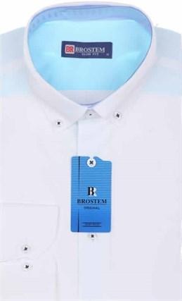 Мужская рубашка BROSTEM 4702VS06 Z-pr приталенная - фото 12674