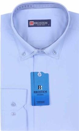 Мужская рубашка BROSTEM 4706VS95 Z-pr приталенная - фото 12677