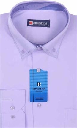 Мужская рубашка BROSTEM 4708VS97 Z-pp приталенная - фото 12679